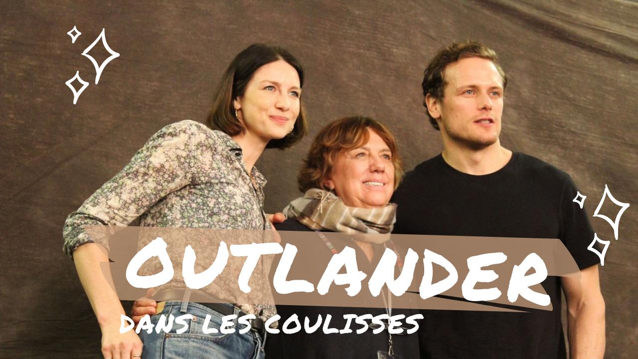 Le cast de la série OUTLANDER débarque à Paris !