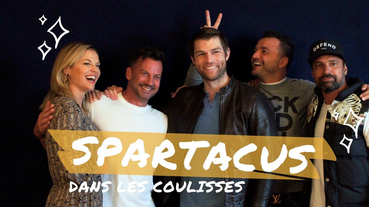Les acteurs de Spartacus à Paris pour les 10 ans de la série !