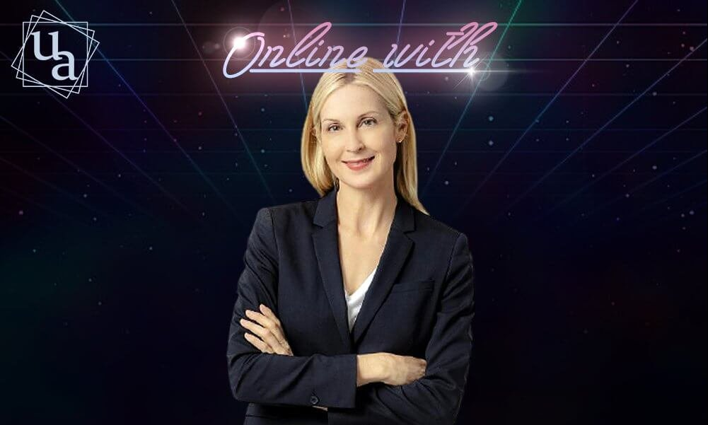 Online with Kelly Rutherford