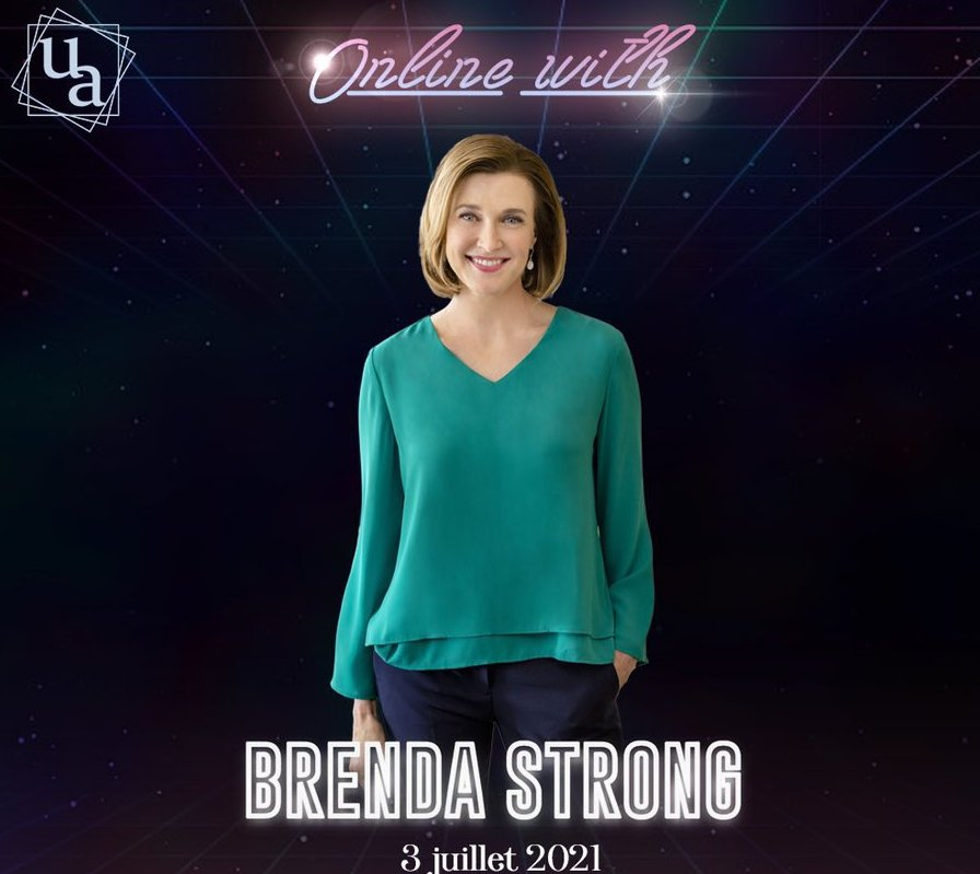 Online with Brenda Strong