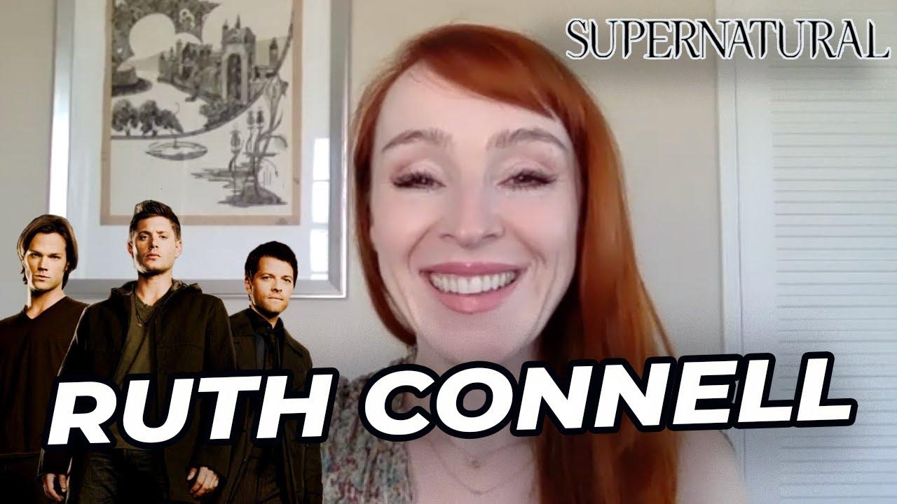 La fin de Supernatural, sa dernière scène, les conventions... Ruth Connell s'est confiée !