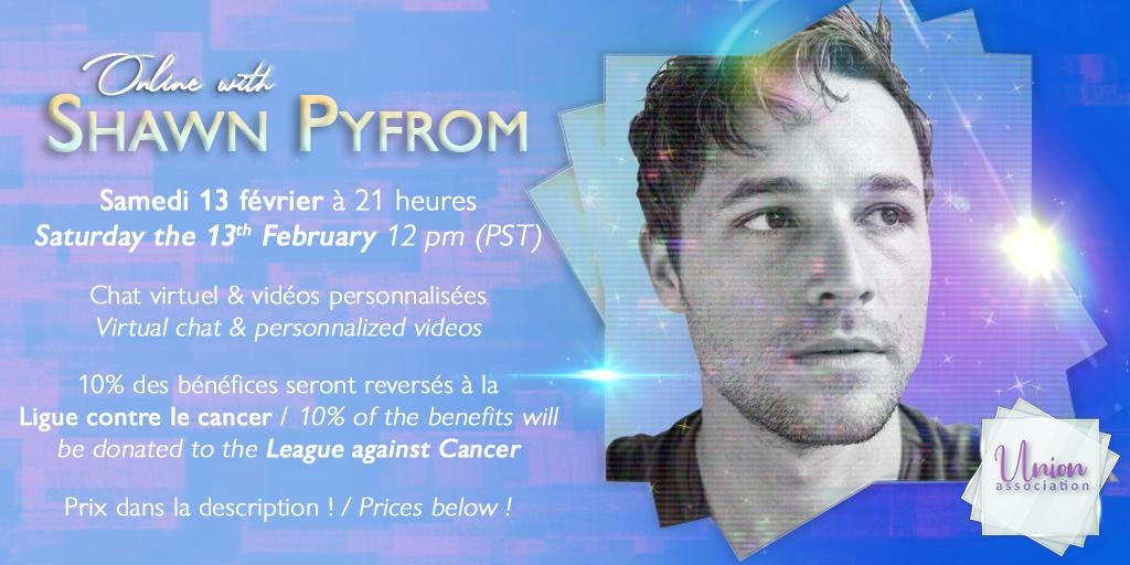 Online with Shawn Pyfrom