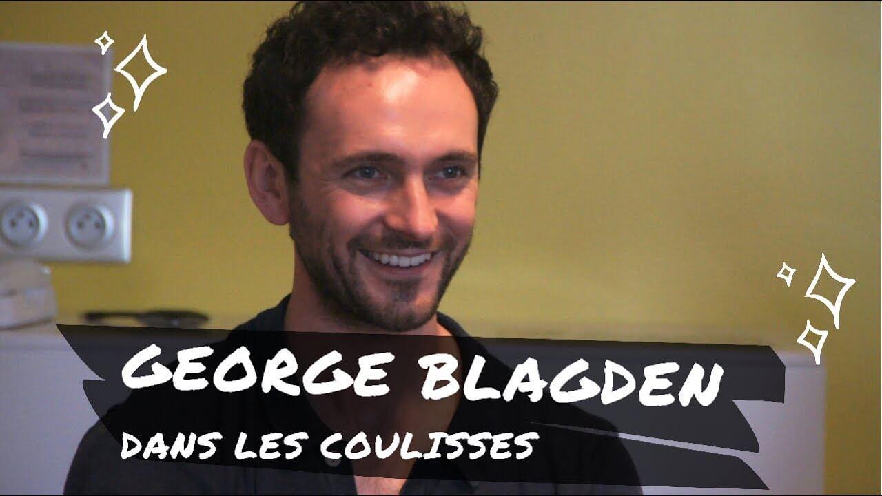 George Blagden, le Roi en personne, à Paris !